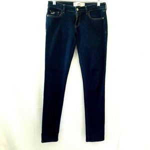 Hollister California Womens Dark Wash Blue Jeans 5